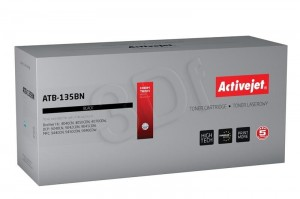Toner ActiveJet ATB-135BN czarny do drukarki Brother - zamiennik TN130BK, TN135BK