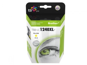 Tusz TB Print TBB-LC1240XLY Yellow do Brother LC1240Y